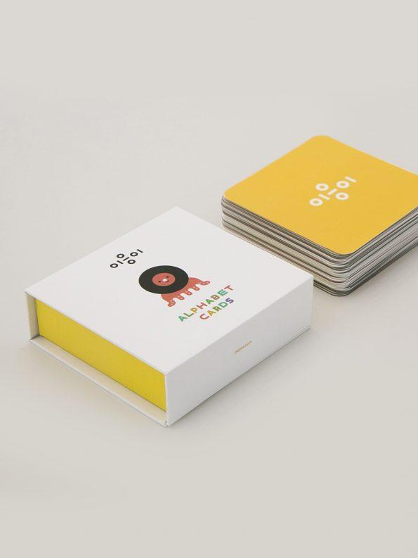 Oioiooi Alphabet Cards