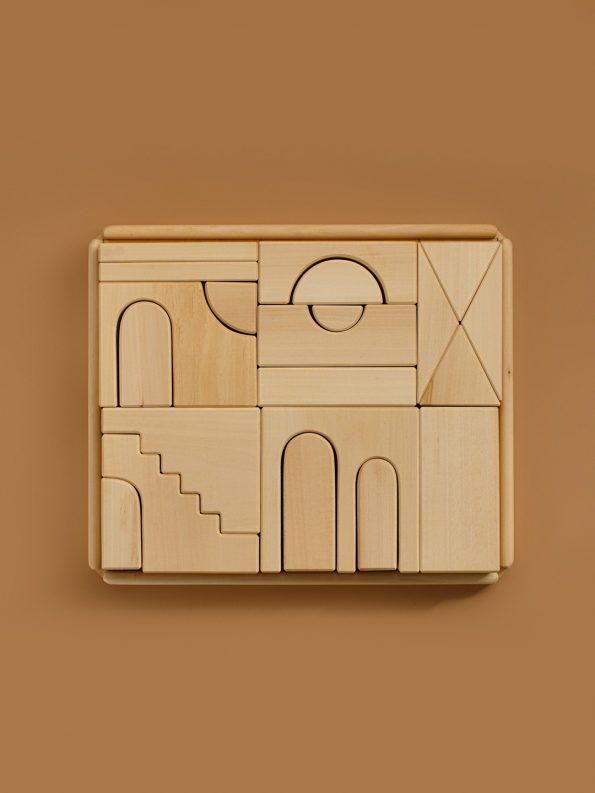 Apartment Building Blocks – Natural