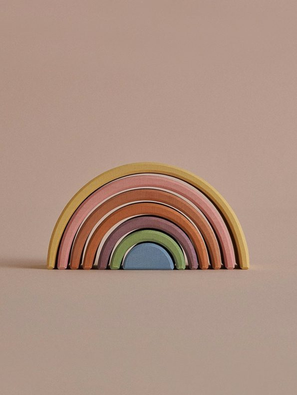 Pastel Earth Arch Stacker