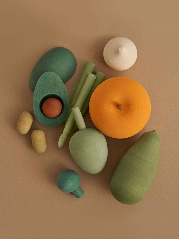 Wooden Vegetables – Vol.2